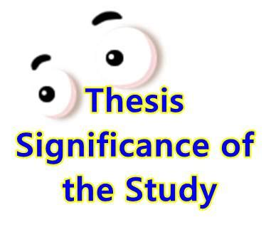 Respondents of the study in methodology thesis